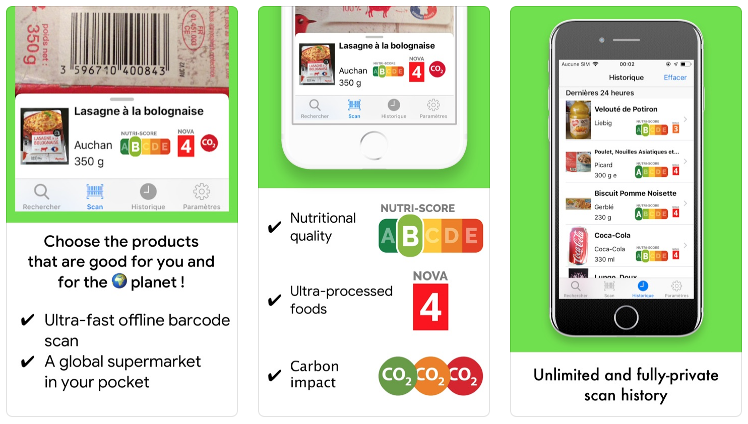 Prova la nuova app mobile Open Food Facts