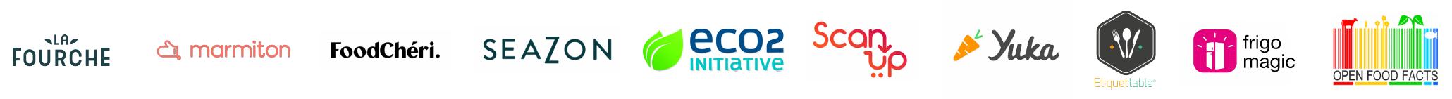Les acteurs du collectif de l'Eco-Score