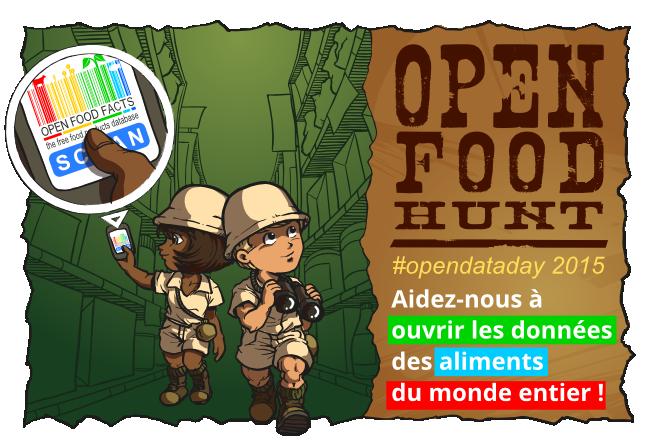 Open Food Hunt 2015