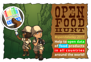 Open Food Hunt