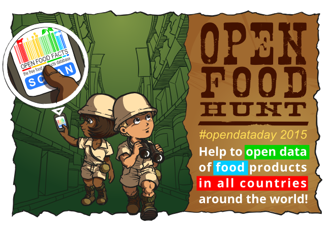 Open Food Hunt 2015