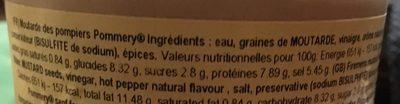 Hierba de trigo - Ingrediënten