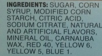 Jelly Fish - Ingrediënten