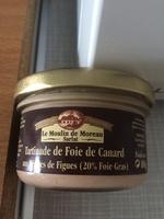 Tartina de foie canard pépites figue - Product