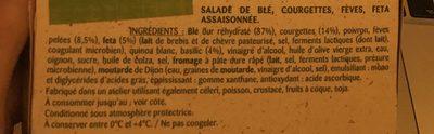 Graines de salade - Ingrediënten