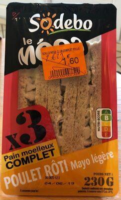 Sandwich poulet rôti - Produit