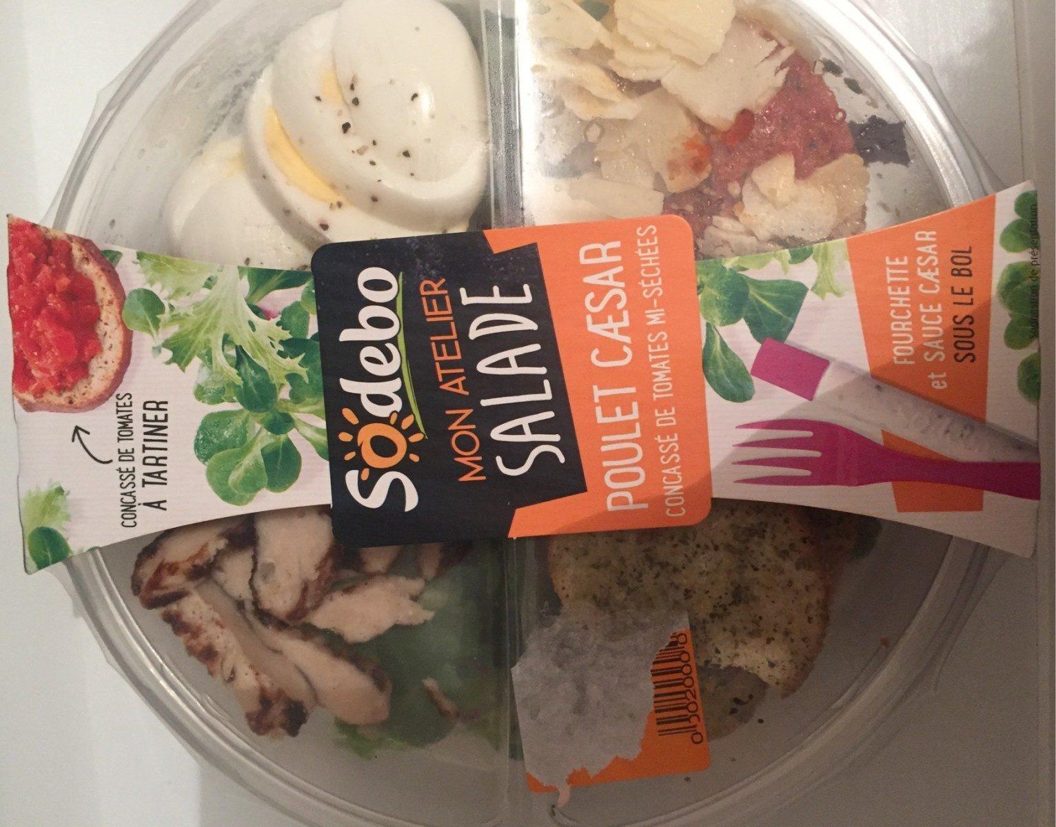 Salade poulet caesar - Produit - fr