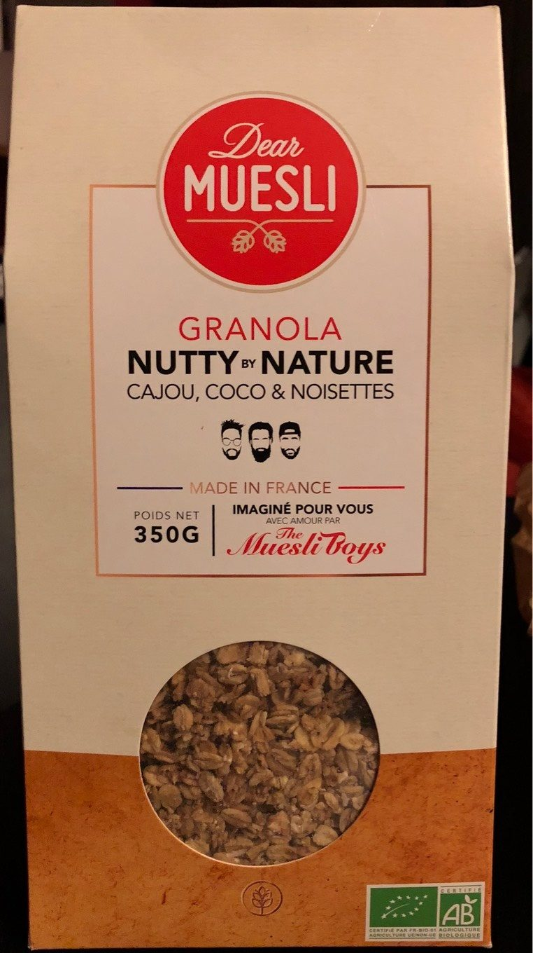 Granola Nutty by nature - Product