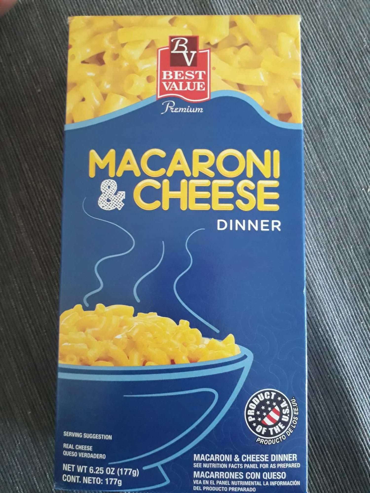 Macarroni and cheese dinner - Product - es