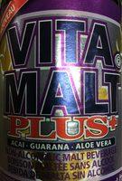 Malt Beverage Plus Acai And Guarana And Aloe Vera - Product