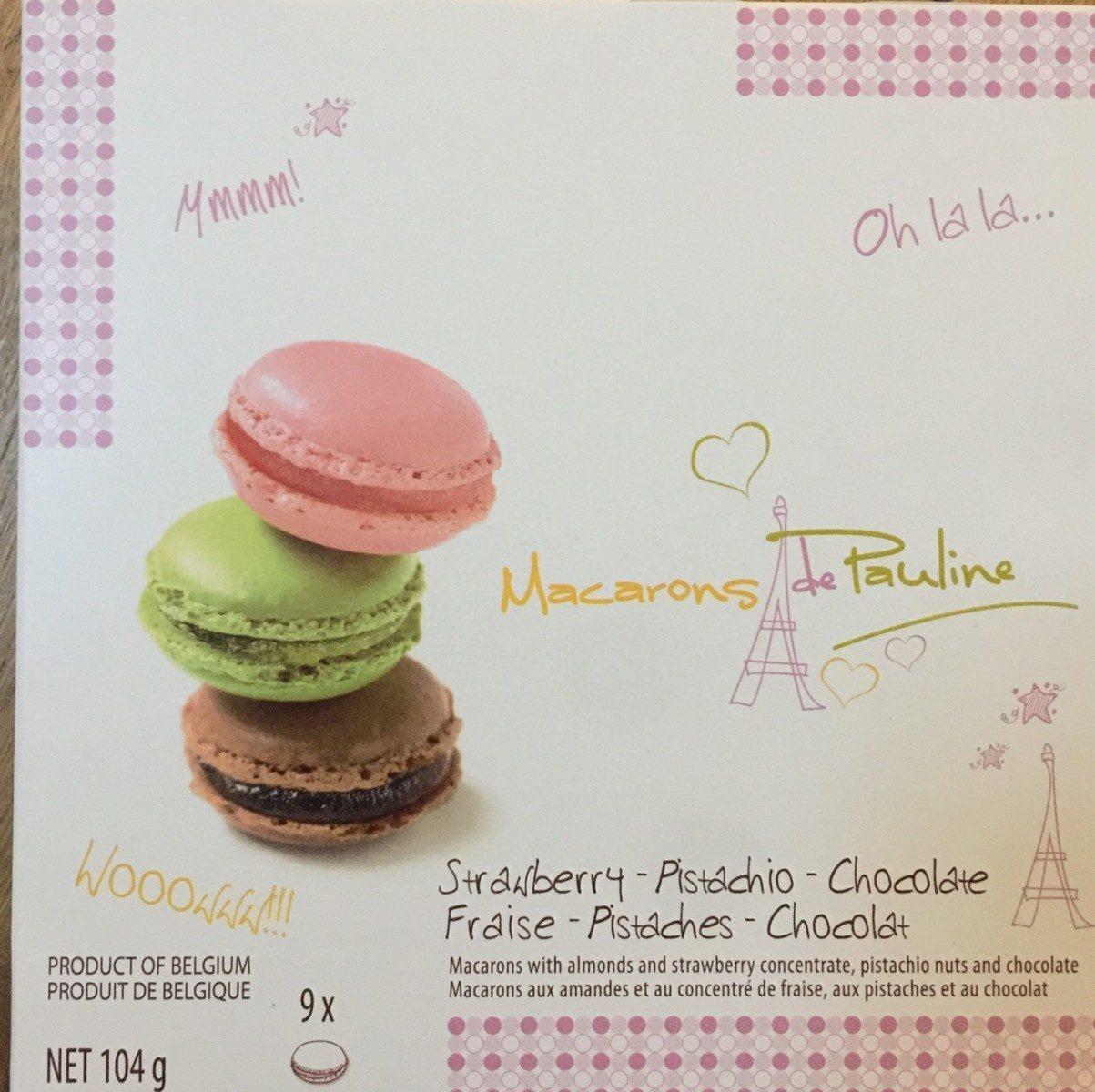 Macarons de Pauline - Produit - fr