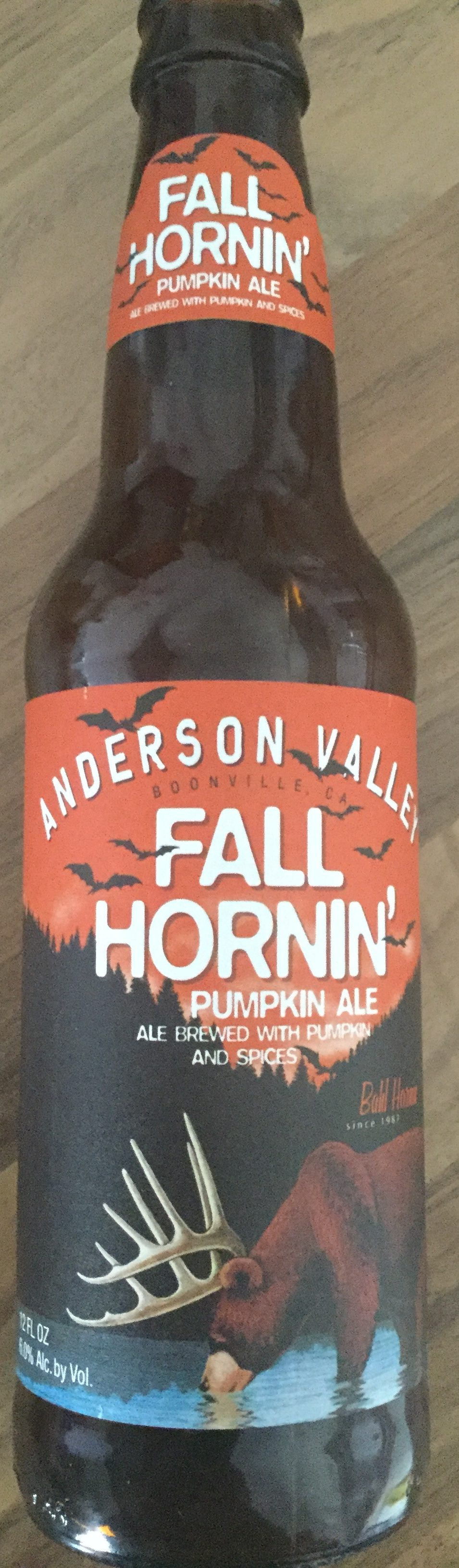 Fall Hornin' pumpkin ale - Product