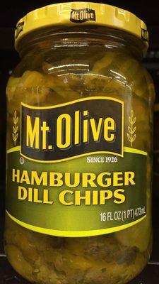Hamburger Dill Chips - Product