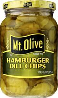 Hamburger dill chips pickles - Produit - la