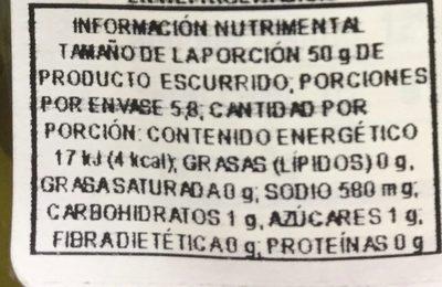 Hamburger Dill Chips - Nutrition facts