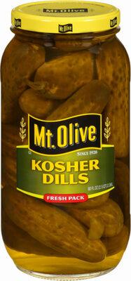 Kosher dills - Produkt