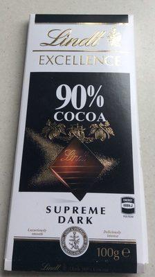 Supreme dark 90% cocoa - Product