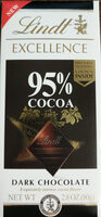 Excellence cocoa dark chocolate bar - 产品 - en