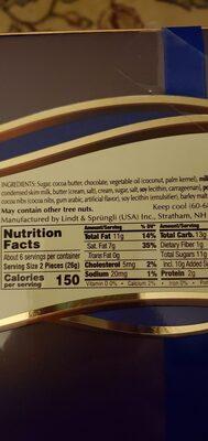 Classic assorted chocolates - Ingredients - en