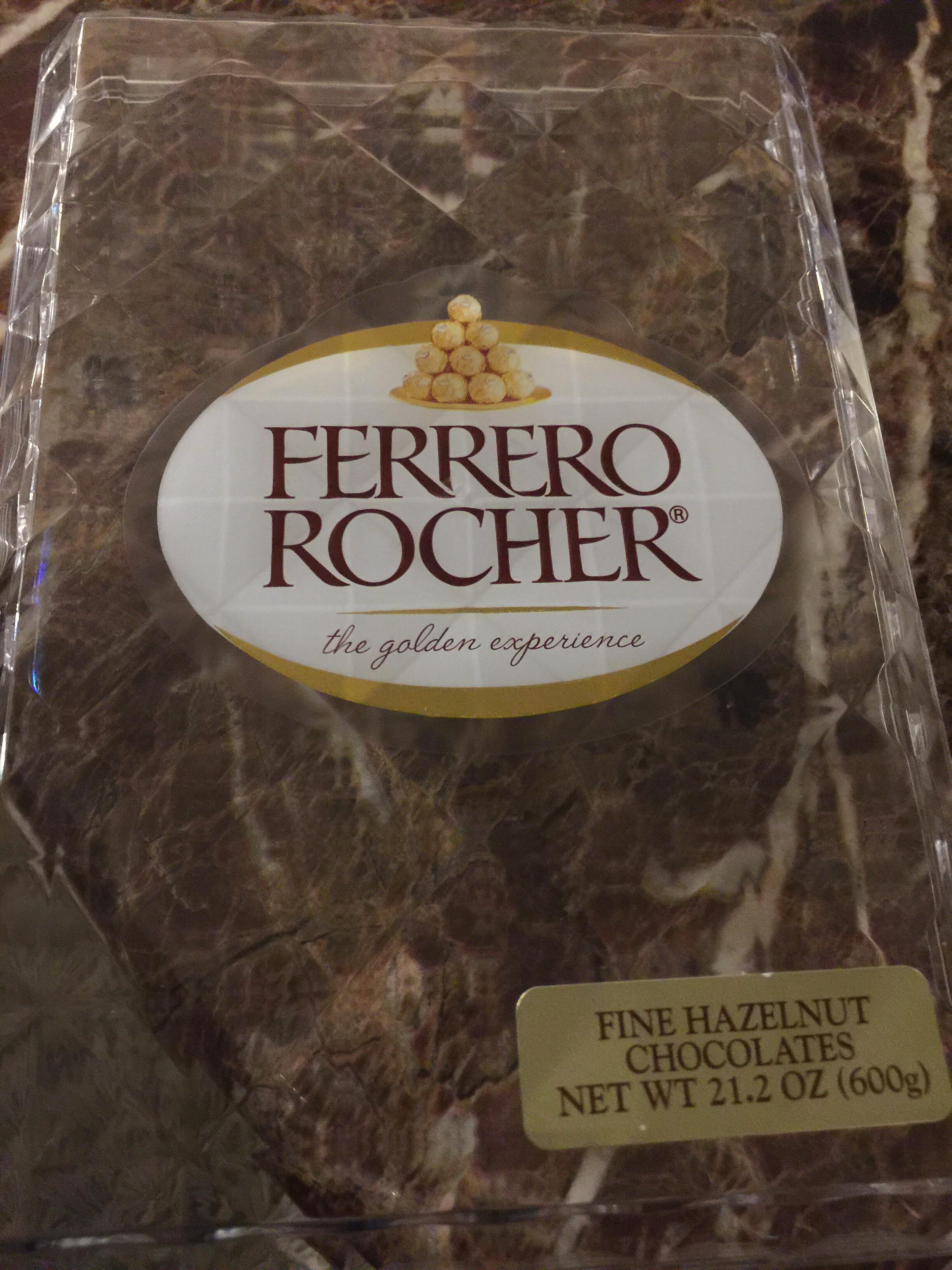 Ferrero Rocher Fine Hazelnut Chocolates 21.2 Oz. Pack - Product