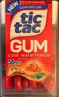 Sugar free gum - Producto - en