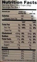 Ferrero, nutella, hazelnut spread with cocoa mini cups - Nutrition facts - en