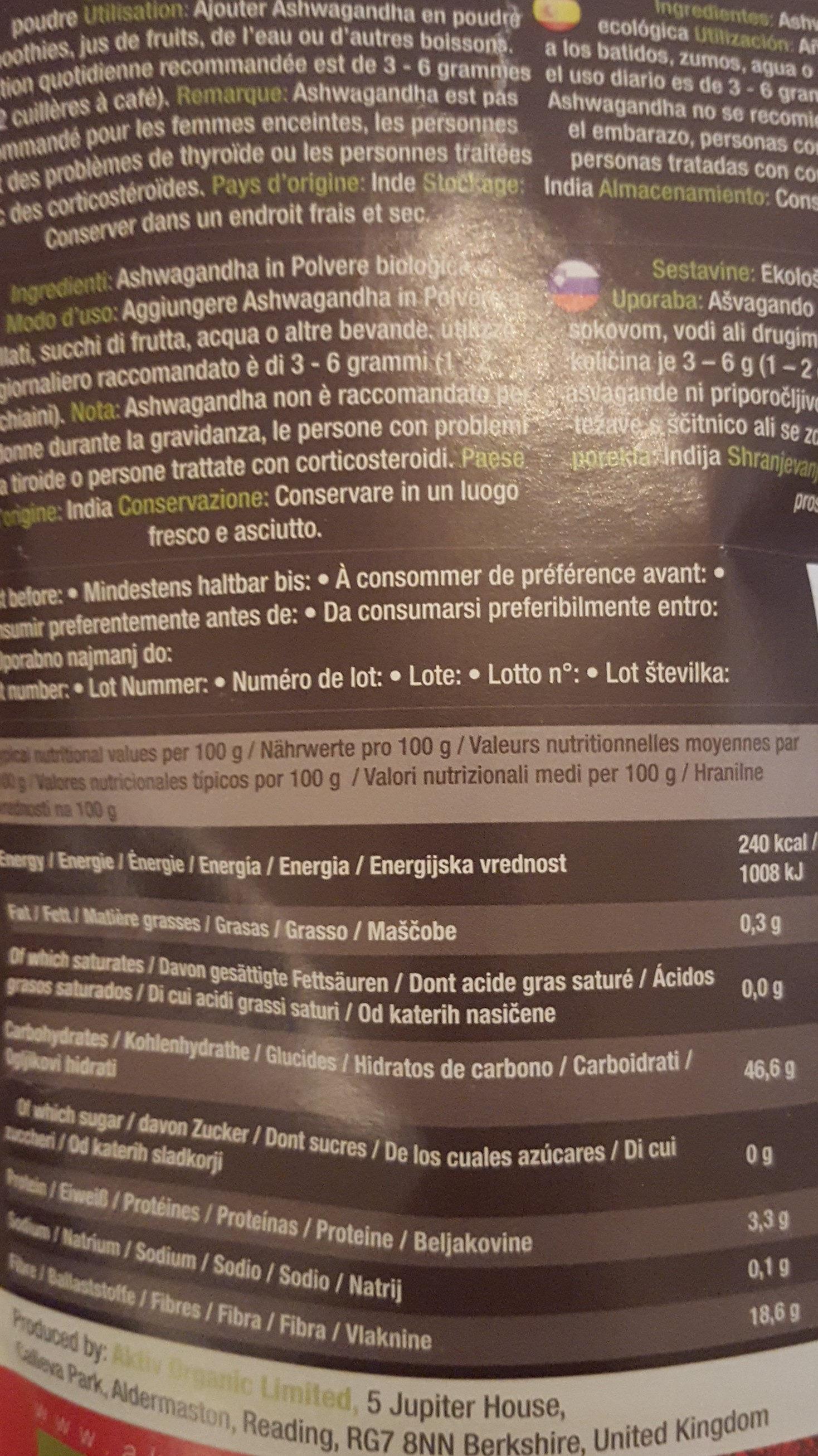 Pizza - Ingrediënten - fr