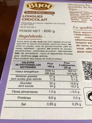 bijou - Ingrédients - fr