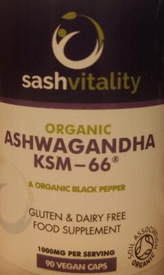 Organic Ashwagandha KSM-66 - Produit - es