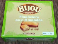 Financiers aux Amandes - Product - fr