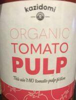 Organic tomato pulp - Product