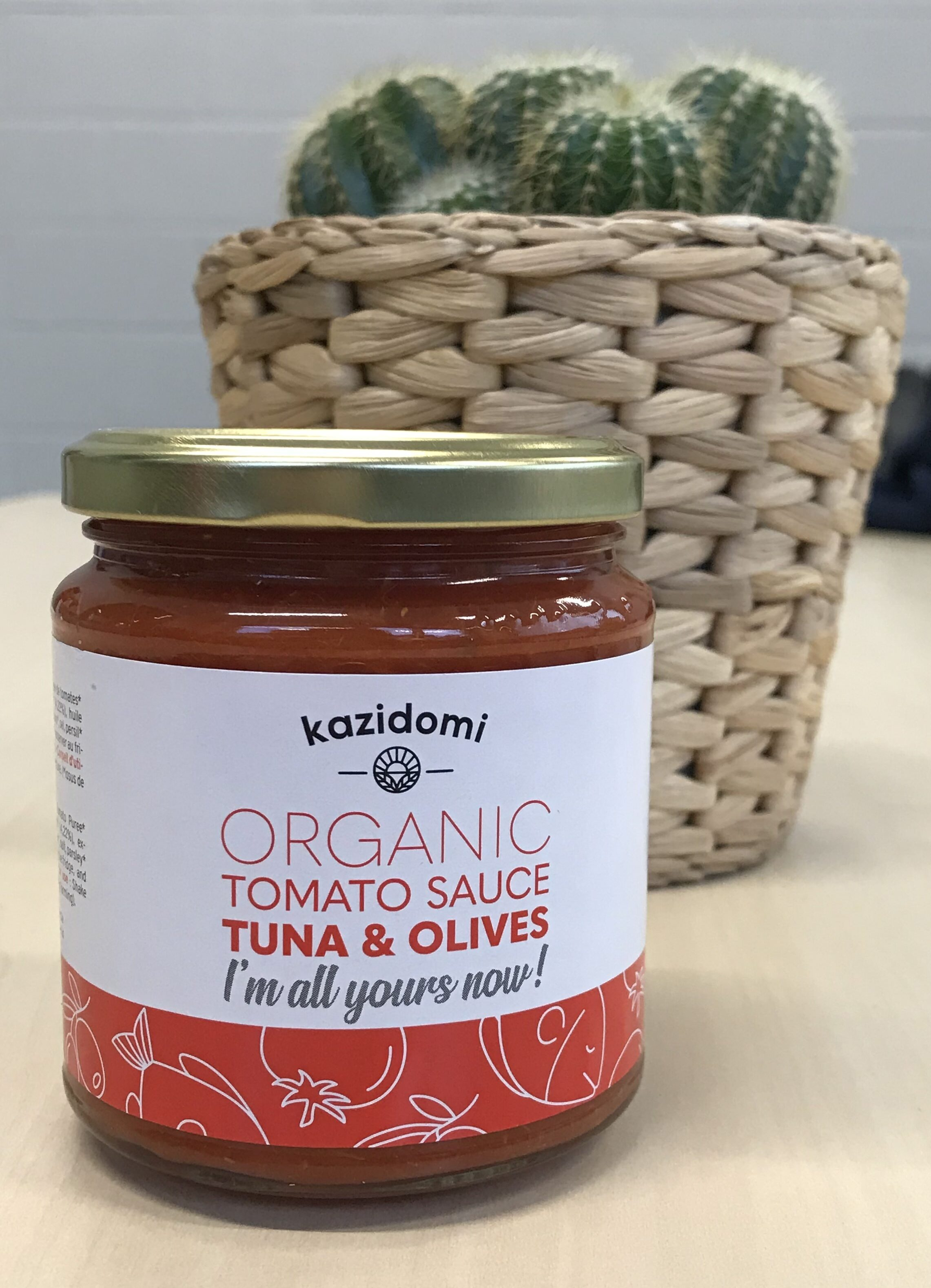 Sauce Tomate Au Thon & Olives Bio Kazidomi - Instruction de recyclage et/ou information d'emballage - fr
