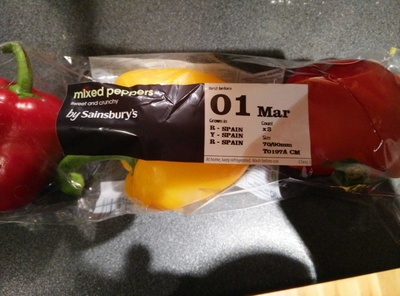 Mixed peppers - Product