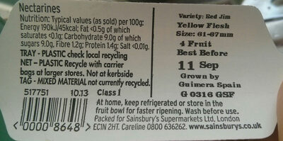 nectarines - Product - en