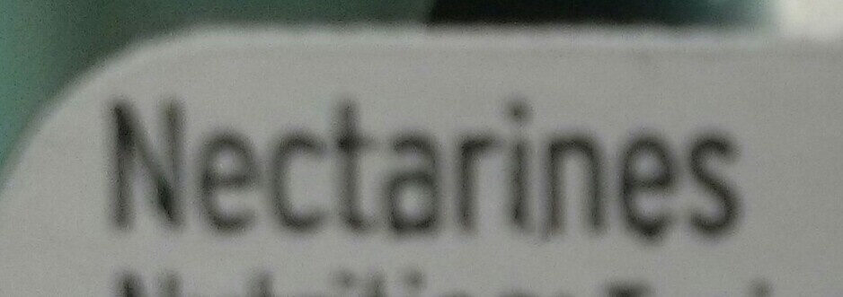 nectarines - Ingredients - en