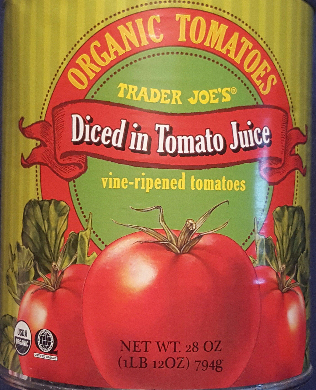 Diced In Tomato Juice - Produit