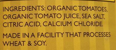 Diced In Tomato Juice - Ingrédients