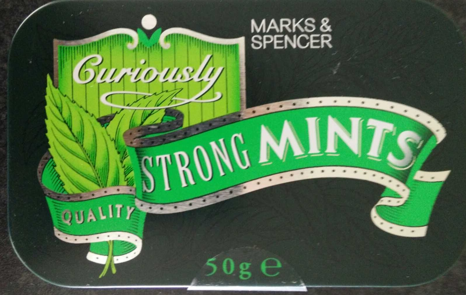 Curiously Strong Mints - Product - en