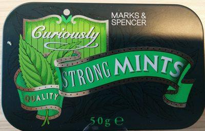 Curiously Strong Mints - Produit