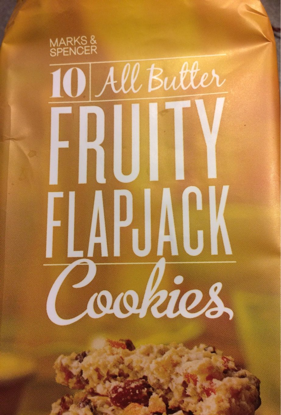 All Butter Fruity Flapjack Cookies - Product