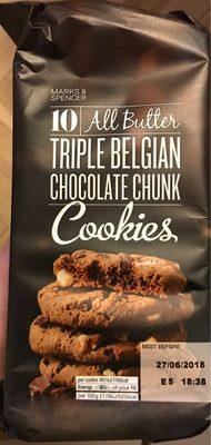 Triple Belgian Chocolaté Chunk Cookies - Product