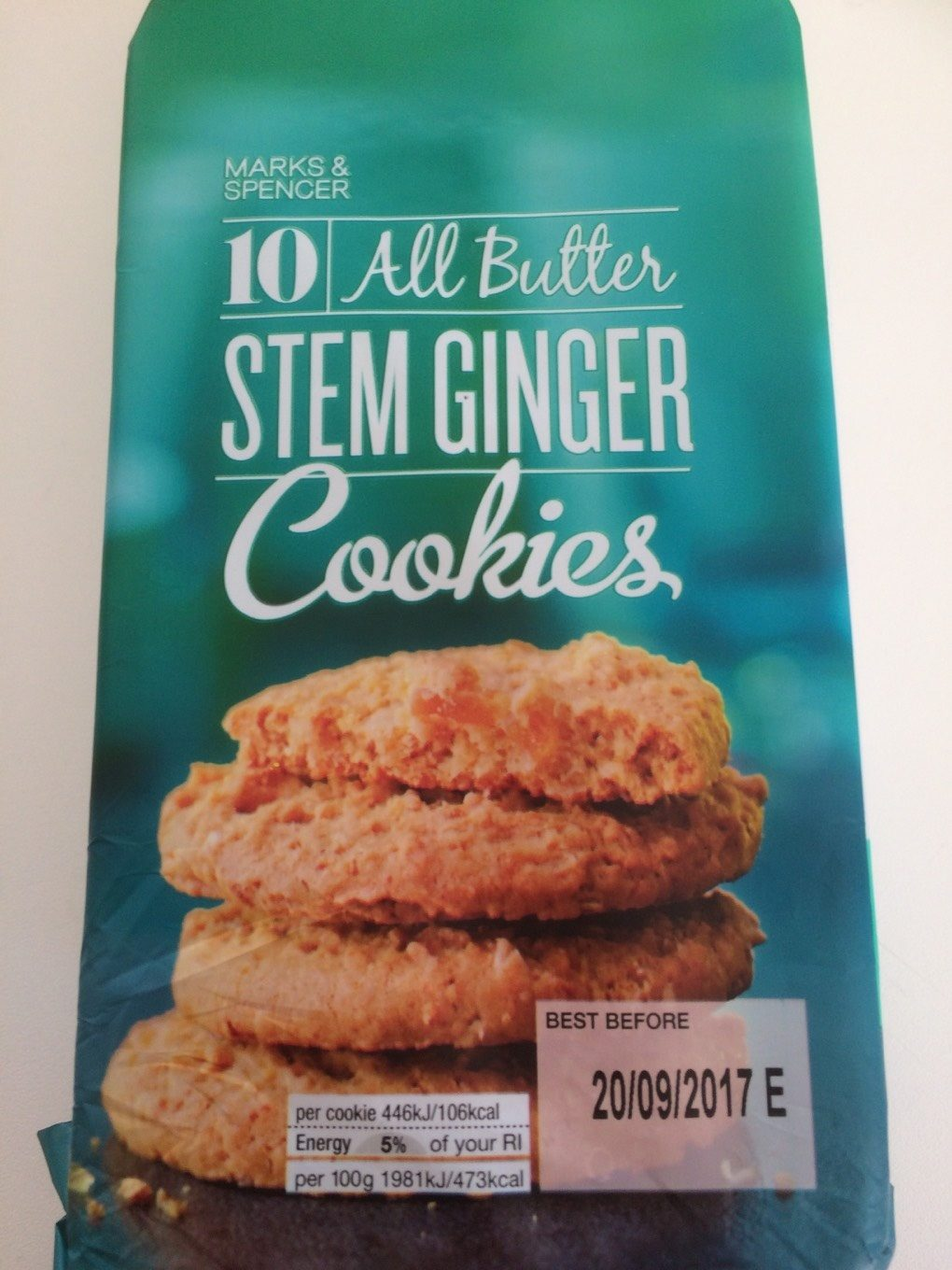 Cookies Stem Ginger - Product - fr