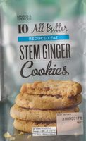 Stem Ginger Cookies - Product