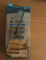 Belgian White Chocolate Chunk Cookies (Reduced Fat) - Product - en
