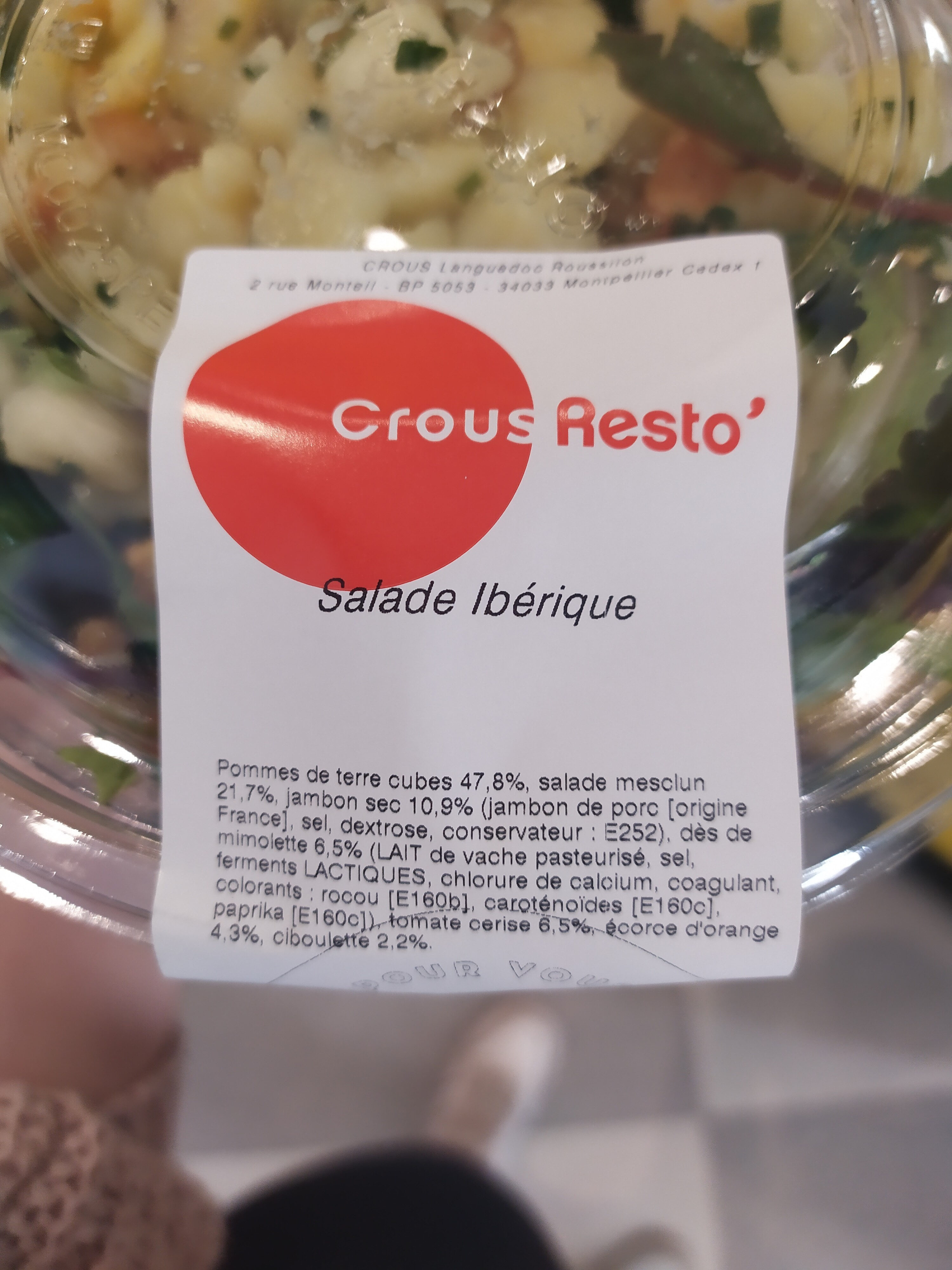 Salade Ibérique - Ingrediënten