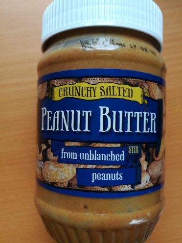 crunchy salted peanut butter stir - Produit