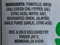 Salsa Verde - Ingredients - en