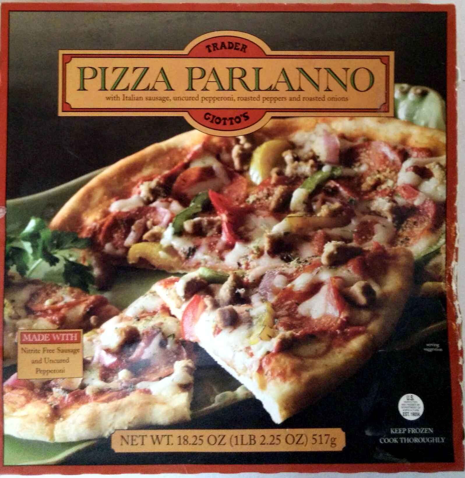 Pizza Parlanno - Product