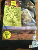 Cornish Cruncher Cheddar & Pickled Onion Hand Cooked - Produit - fr