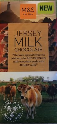 Jersey Milk Chocolate - Product